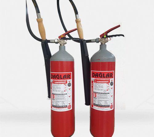 Co2 (Karbondioksit)'li Yangın Söndürücü